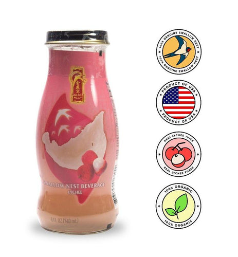 Premium Bird's Nest Drink - 6 Bottles x 240 ml (8oz) MIX and MATCH