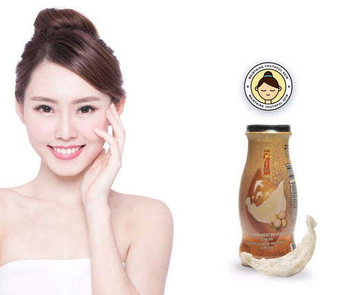 Bird's Nest Drink - Longan - 12 bottles x 240ml (8 oz.) Bird's Nest Soups & Drinks GOLDEN NEST