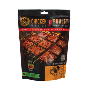 Chicken Jerky Bites - Honey Sriracha - 4 oz.