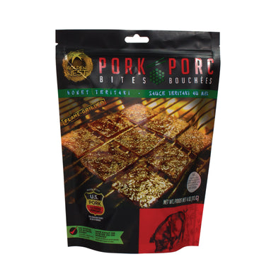 Pork Jerky Bites - Honey Teriyaki- 4 oz.
