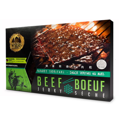 Beef Jerky - Honey Teriyaki - 6 oz.
