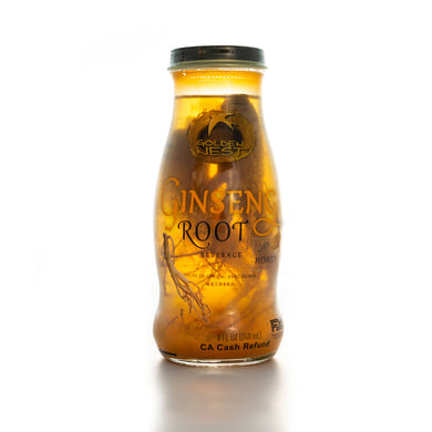 Ginseng Root with Honey Beverage - 6 or 12 Bottles x 240ml (8 oz.)