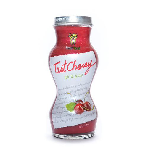 HEALTHEE Cherry Tart Juice - 6 or 12 bottles x 180 ml (6 oz.)