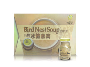 Healthee Bird's Nest Soup - Organic Sugar - 6 bottles x 70 ml (2.4 oz.)