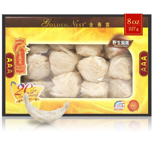 Wild Cave Bird's Nest AAA - 227 Grams (8 Oz.)