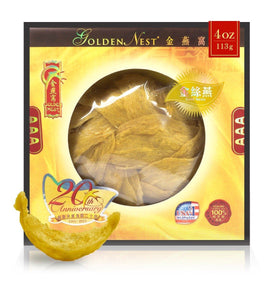 Gold Bird's Nest AAA - 113 grams (4 Oz.) Edible Bird's Nest GOLDEN NEST
