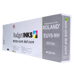 Roland LED UVS 220ml - White EUVS-WH