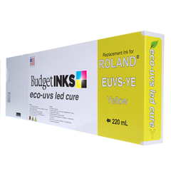 Roland LED UVS 220ml - Yellow EUVS-YE