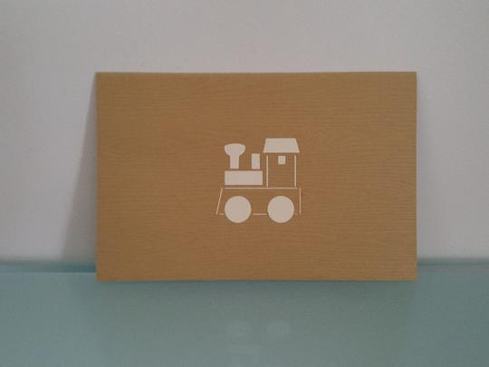 Pop Up Cards - Baby Train
