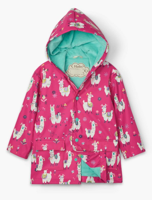 Pretty Alpaca Raincoat by Hatley