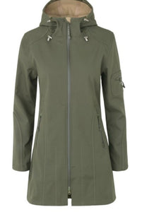 Ilse Jacobsen Raincoat - Army Green - JUST 2 SIZES LEFT!