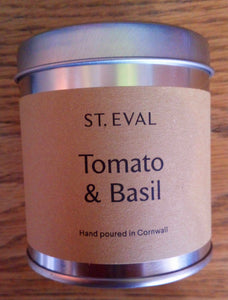 Scented Candle - Tomato & Basil
