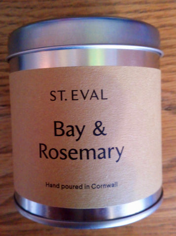 Scented Candle - Bay & Rosemary