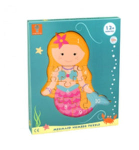 Mermaid Number Puzzle