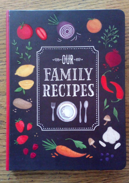 Family Recipes Journal