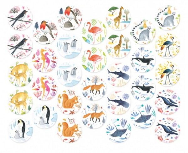 Wildlife Memory Game