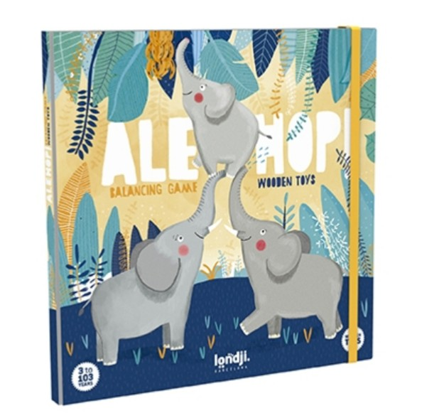 Balancing Game - Elephant Hop