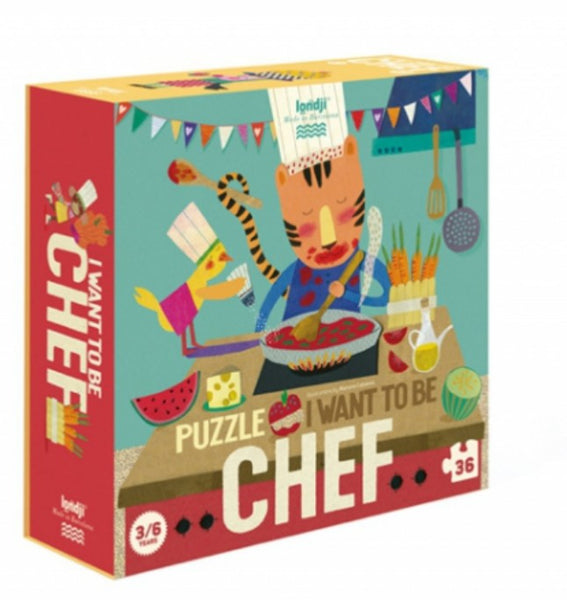 I Want To Be A Chef Puzzle