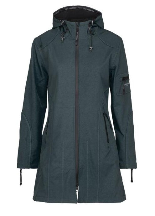 Ilse Jacobsen 3/4 Raincoat - Urban Grey
