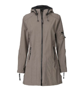 Ilse Jacobsen Raincoat - Dark Ash - JUST 2 SIZES LEFT!