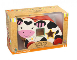 Cow Pull Along Shape Sorter - OUT OF STOCK