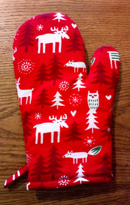 Christmas Oven Glove - Only 1 Left!