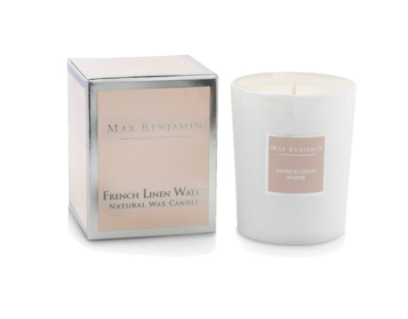 Max Benjamin Scented Candle - French Linen Water