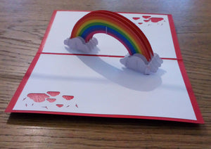 Pop Up Card - Rainbow