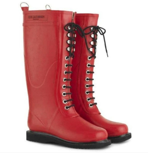 Ilse Jacobsen Tall Lace Up Boots