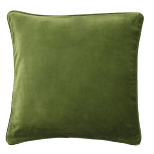 Bungalow Dk Velvet Cushion Cover - Fern