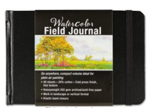 Watercolour Field Journal