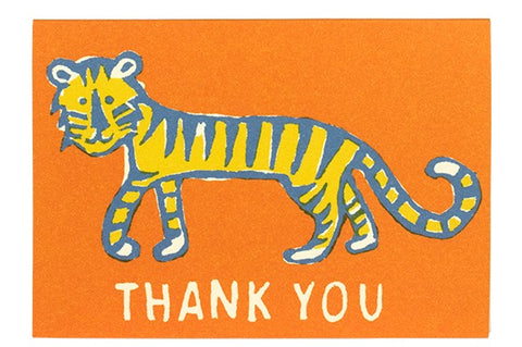 'Thank You' Cards - Lion