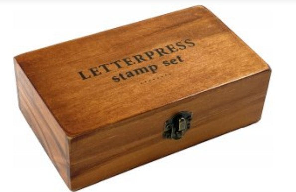 Letterpress Stamp Set