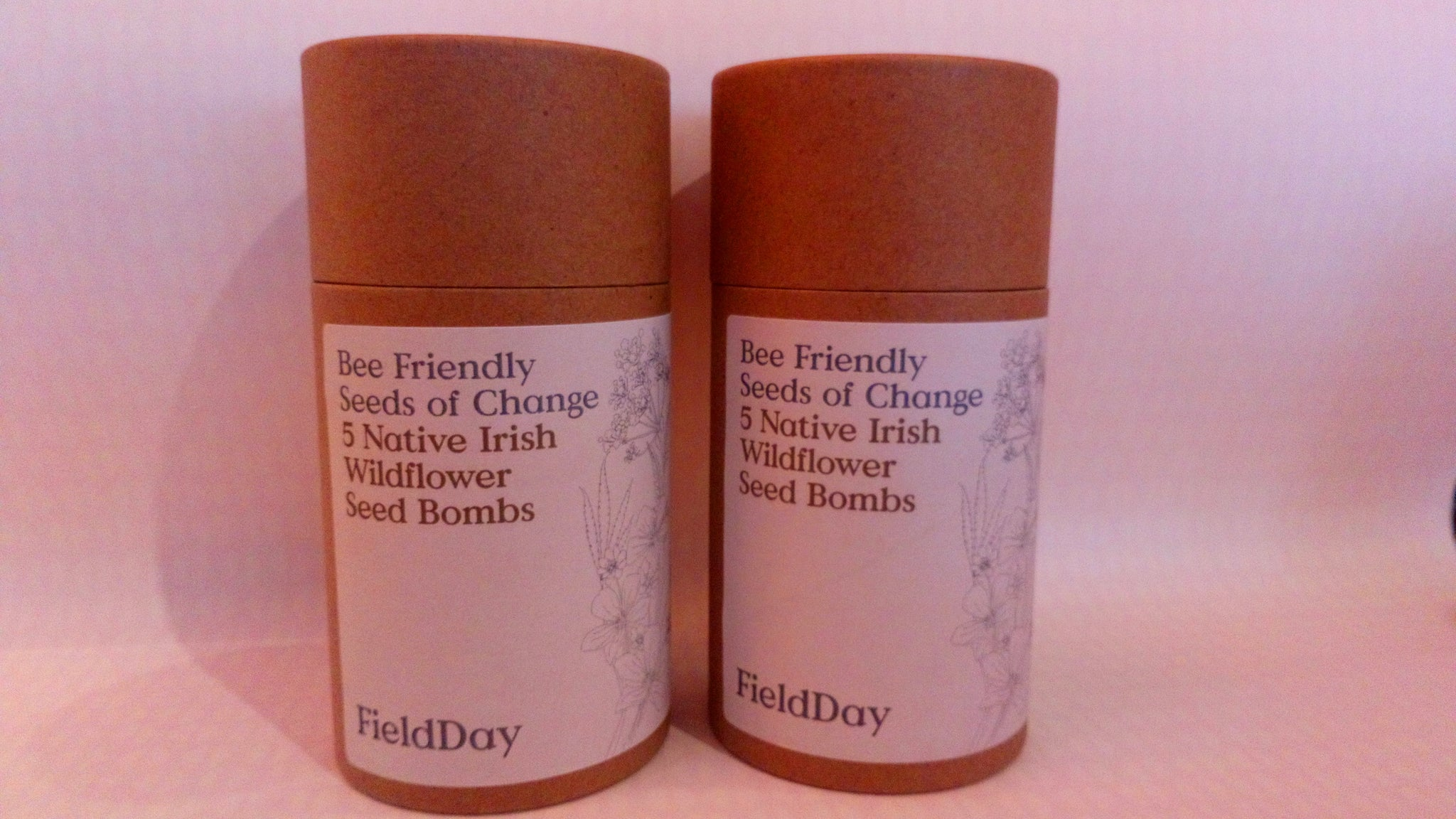 Bee friendly wildflower seed bomb