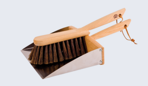 Dustpan and Brush with Magnet