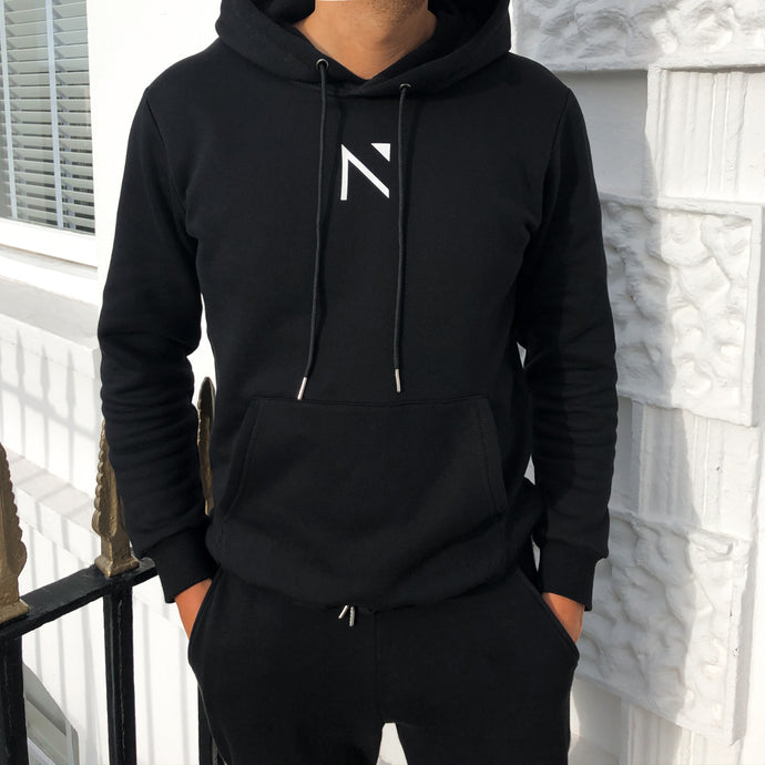 The Black Signature 'N' Hoodie