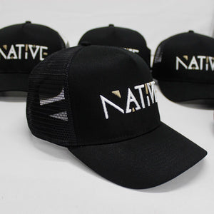 Native Mesh Trucker Cap