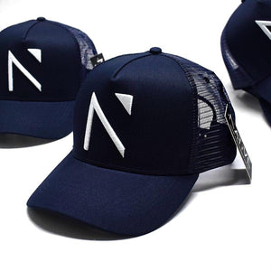 The Navy Signature 'N' Mesh Trucker Cap