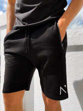 Black Signature 'N' Shorts