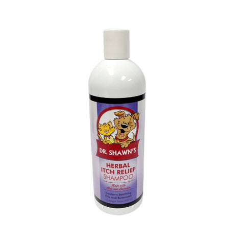 All Natural Herbal Itch Relief Pet Shampoo - insect repelling, soothes as it heals