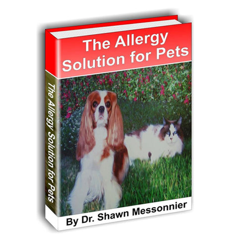 The Allergy Solution for Pets ebook - Pets get allergies too! instant access, download