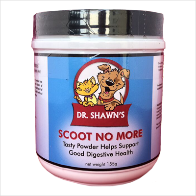 Dr Shawn's Scoot No More for Dogs and Hairball Control for Cats (155 g)