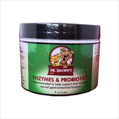 Dr Shawn's Enzymes & Probiotics for Dogs and Cats (4 oz)