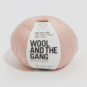 "Tencel, ""Cameo Rose"" - Tina Tape Yarn 