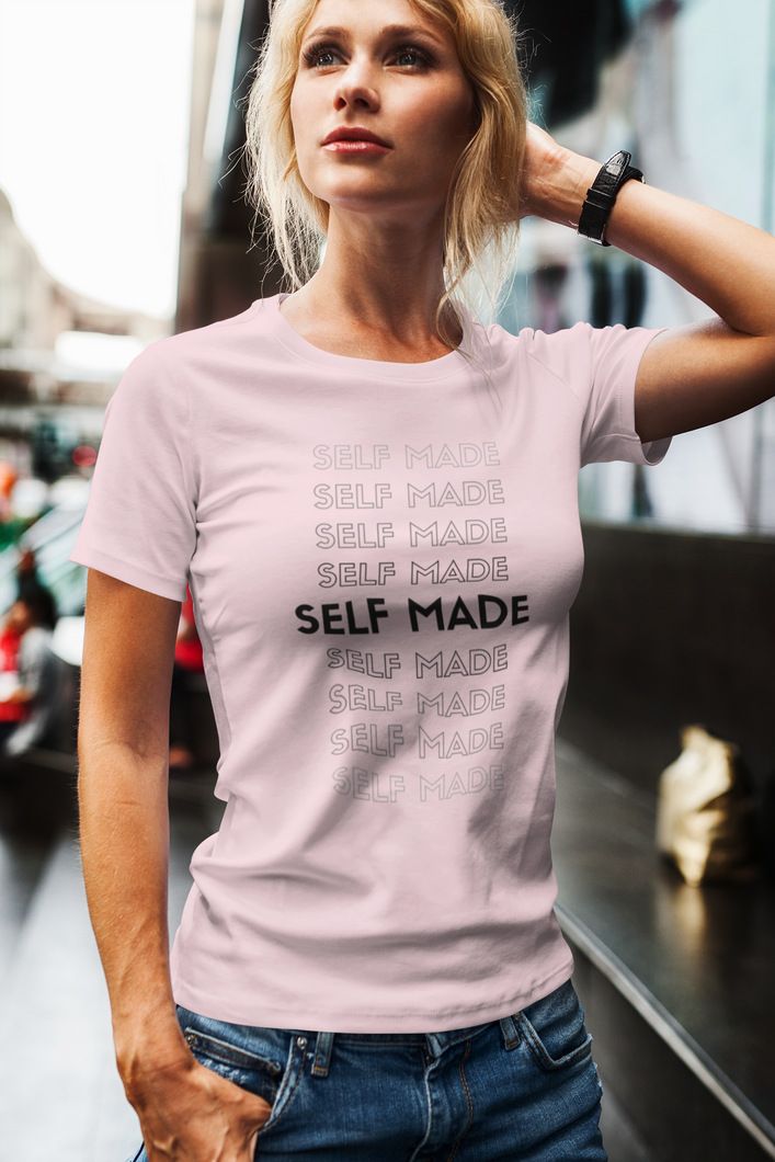 T-shirt SELF MADE - Femme - 100% coton biologique