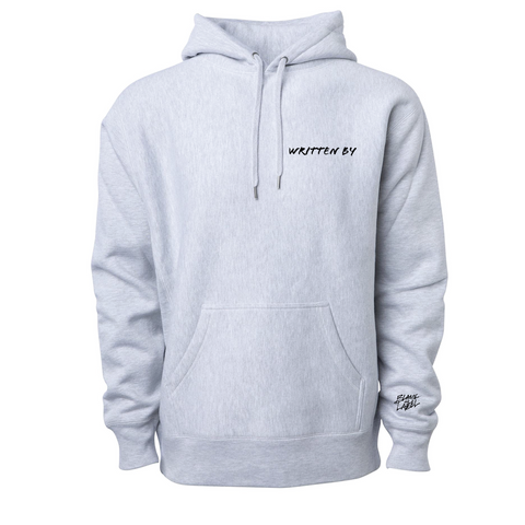 Writer Hoodie, Heather Gray