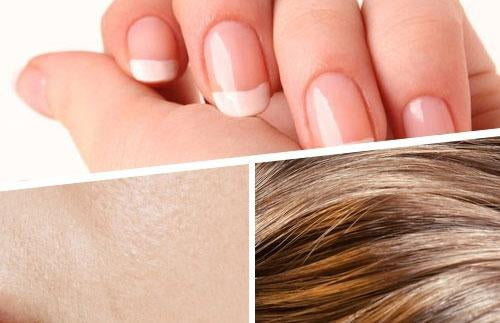 Strong Healthy Hair, Skin and Nails