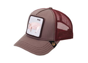 Goorin Bros. Pig Trucker Hat - Oink Marketplace for Pigs