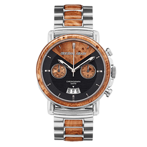 The Alterra Chronograph - THE MARC (Burl Wood/S...