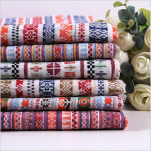 Ethnic Fabric Popular Folk Style Cloth Sofa Cover Curtain Decoration Cotton Blended Fabric - TH-6142